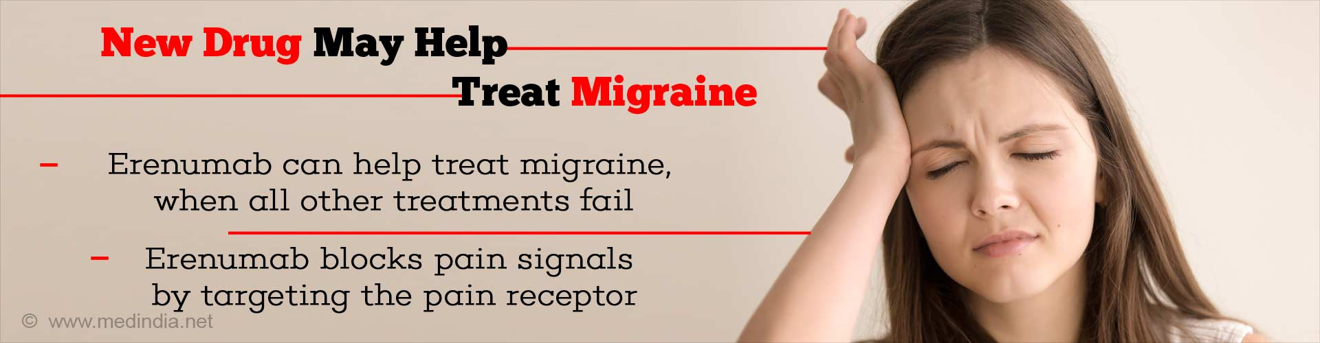 new drug may help treat migraine