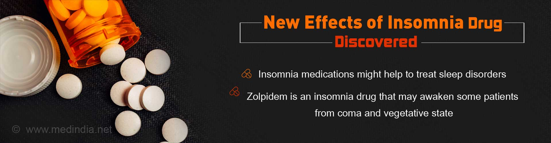 New Effects of Insomnia Drug Discovered