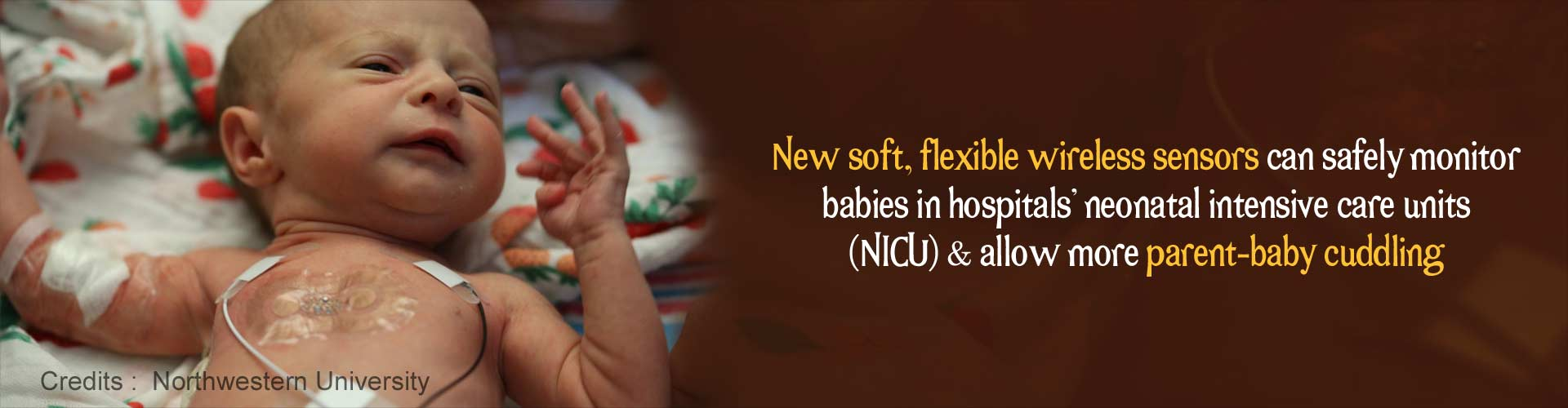 New Flexible Wireless Sensors Can Monitor Babies in the NICU