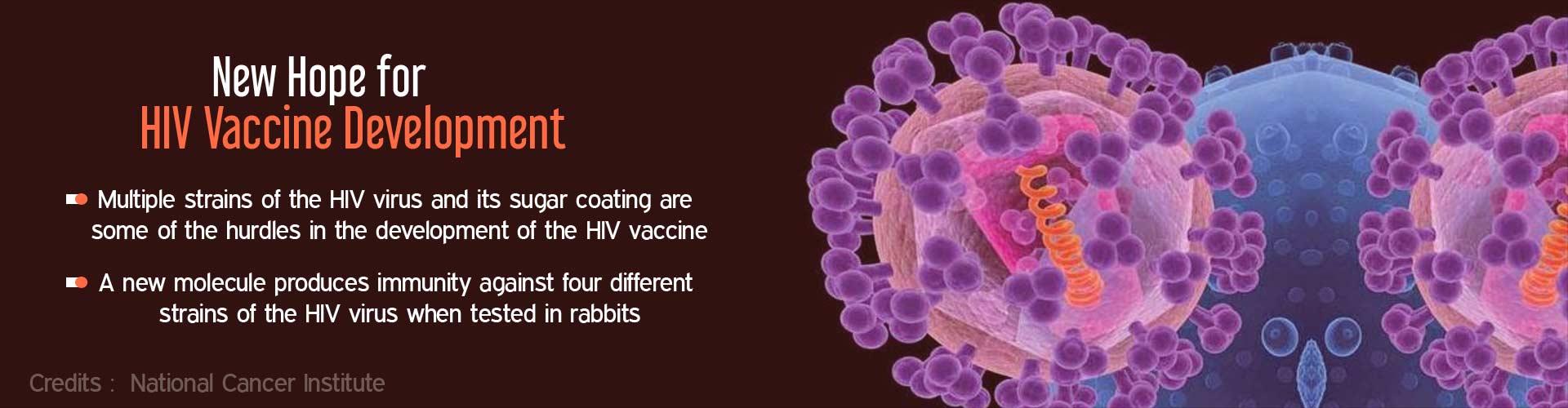 New HIV Vaccine Candidate Molecule Developed