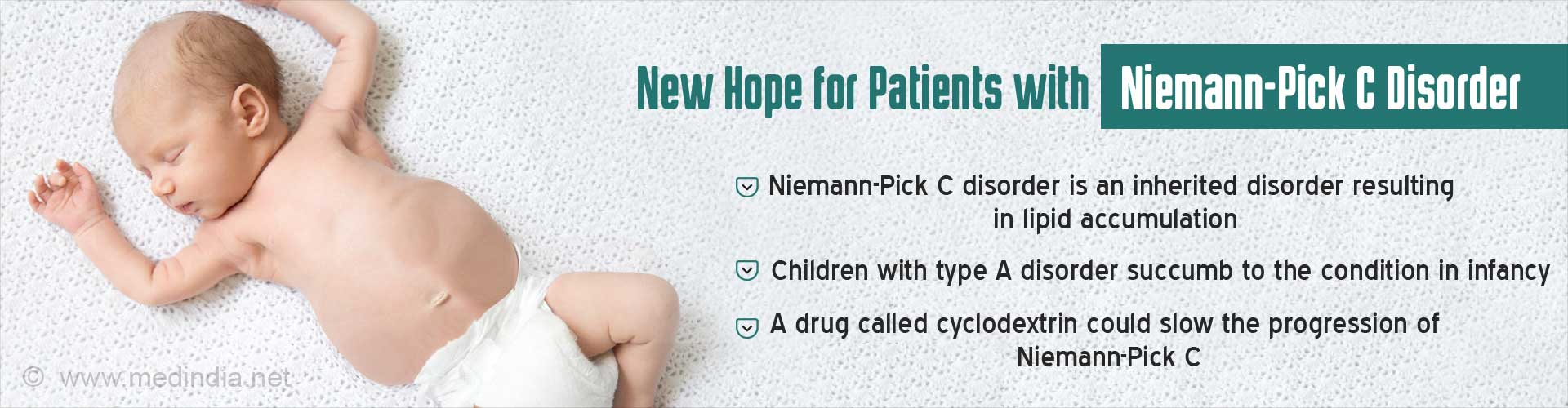 Cyclodextrin Shows Promise in Niemann-Pick Type C Disease