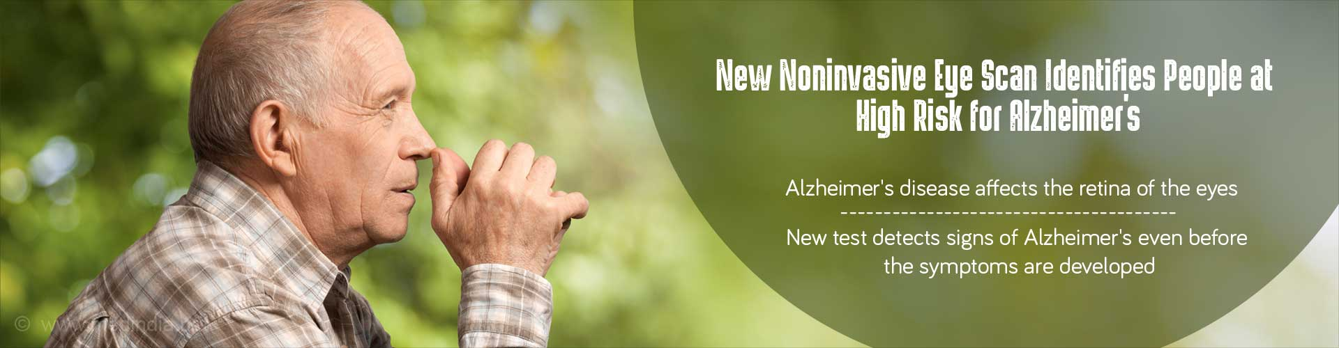 New Hope For Early Detection And Monitoring Of Alzheimer''s Disease