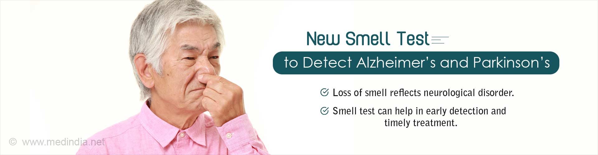 new smell test to detect alzheimer's and parkinson's