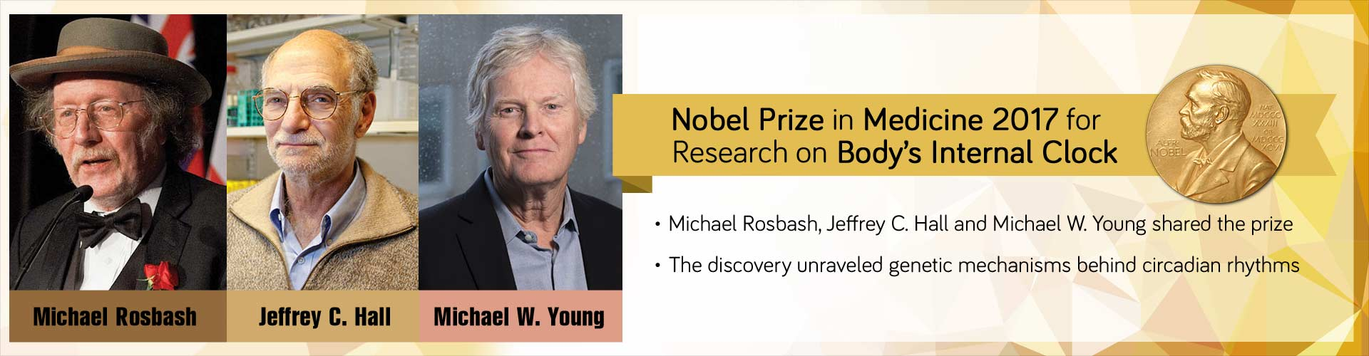 Nobel Prize in Medicine 2017 For Research On Body's Internal Clock