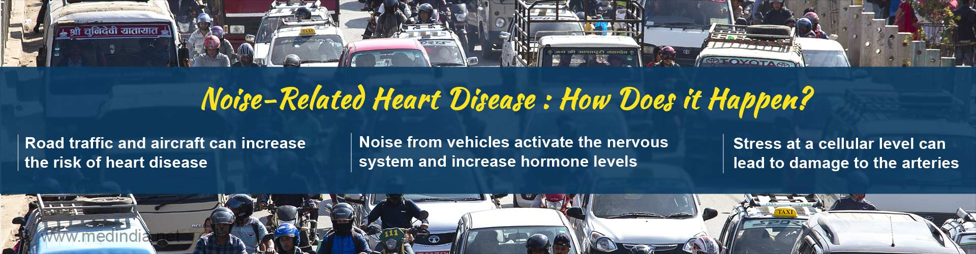 Noise From Trains, Planes, Trucks Can Cause Heart Disease