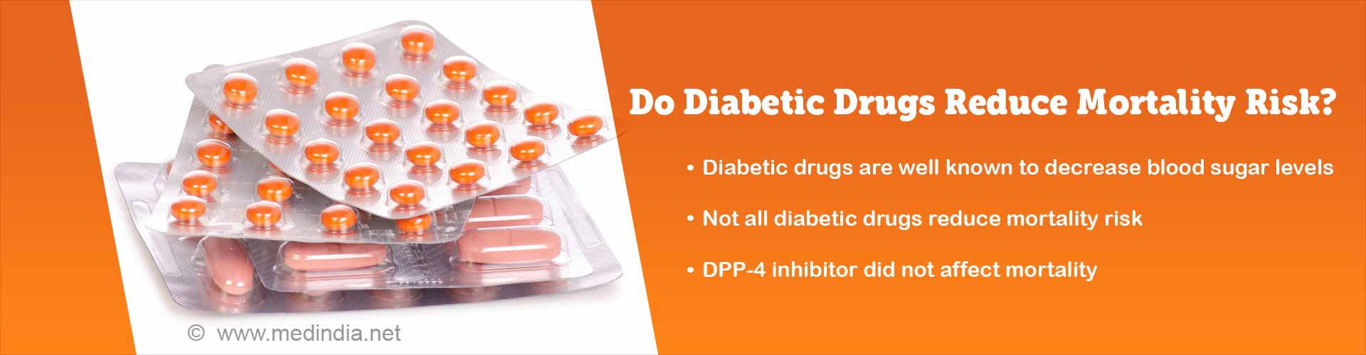 Not All Diabetes Medications Reduce Mortality Risk