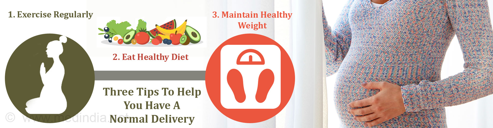Three Tips to Help You Have a Normal Delivery