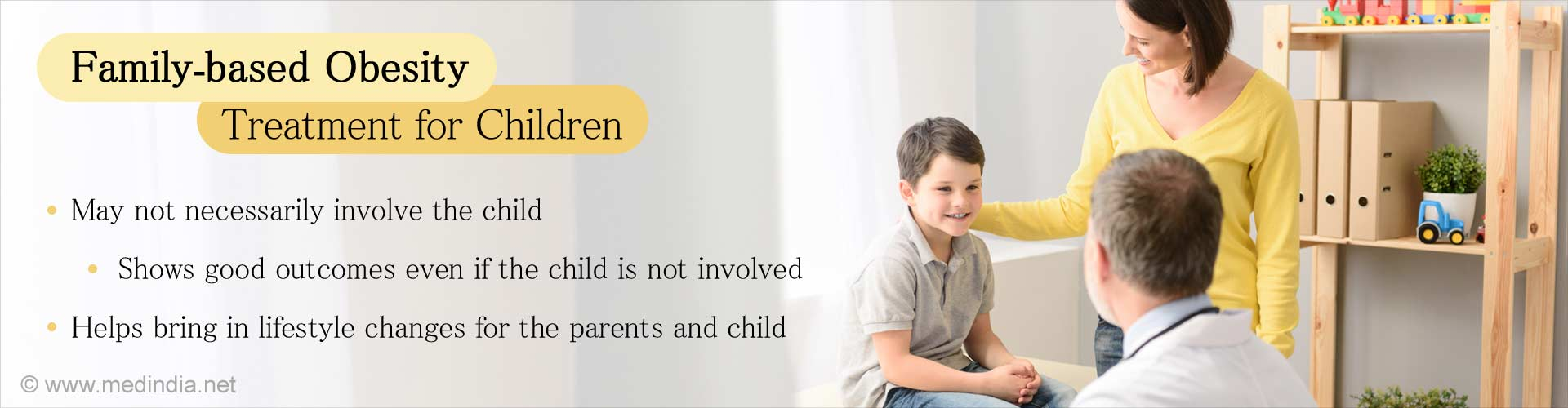 Parent's Play a Crucial Role in Treating an Obese Child