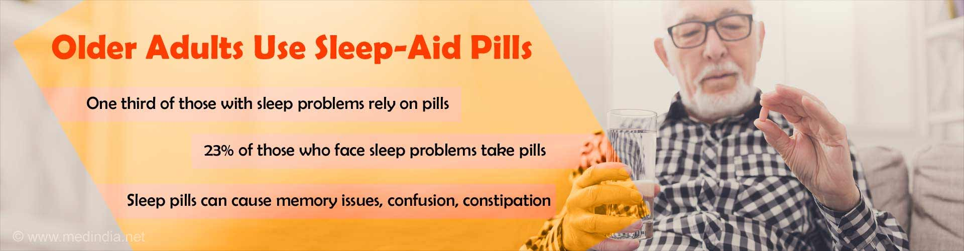 Older Adults Use Sleep-Aid Pills
