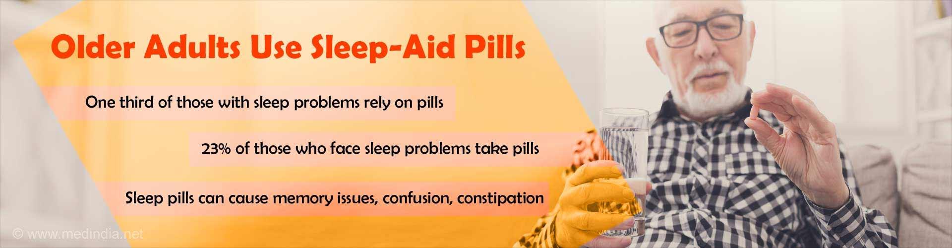 Sleep Pills in Old Age Can Hamper Health