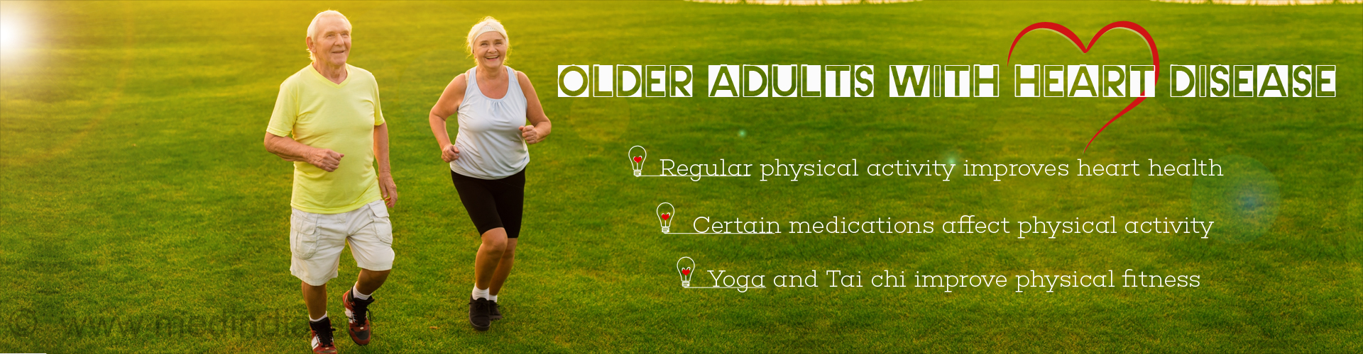 Regular Physical Activity Improves Health of Older Adults With Heart Disease