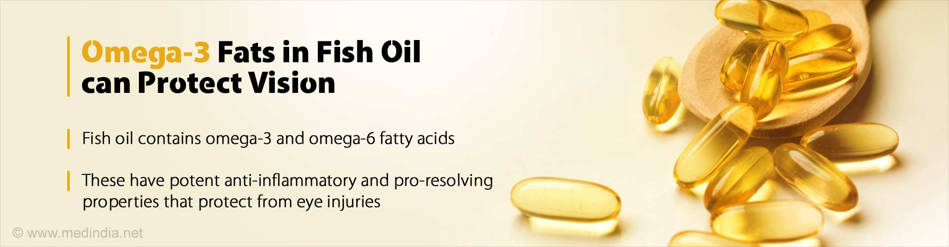 Omega-3 Fats in Fish Oil can Protect Vision