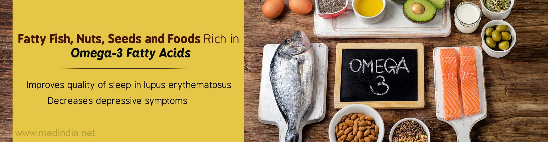 Omega-3 Rich Diet Reduces Disease Severity in Lupus