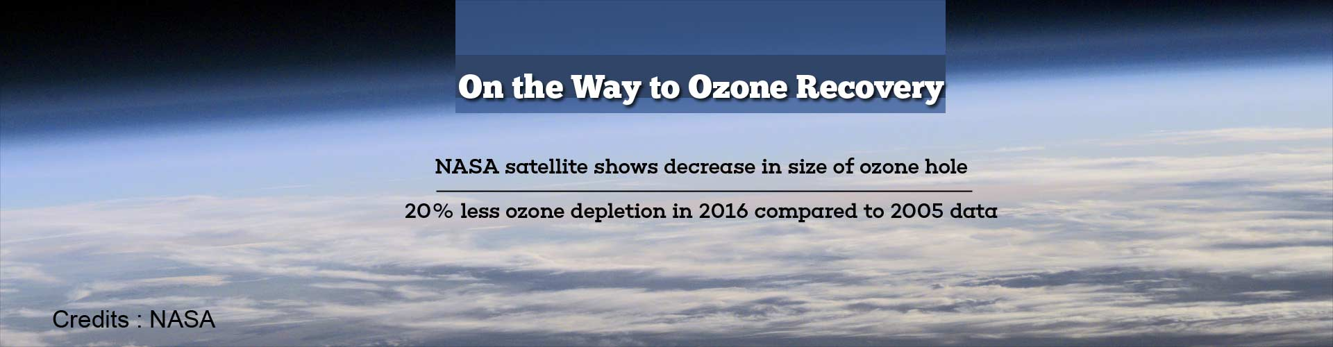 On the way to Ozone Recovery