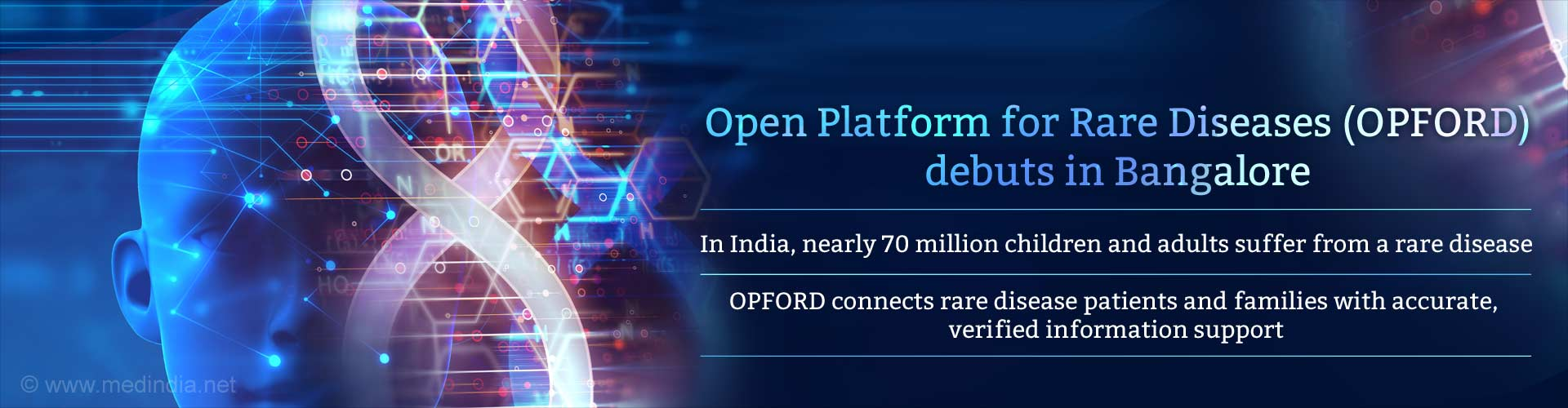 open platform for rare diseases (OPFORD) debuts in bangalore