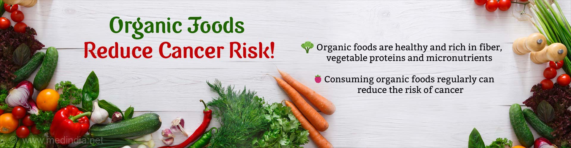 Organic Food Consumption Associated With Reduced Cancer Risk