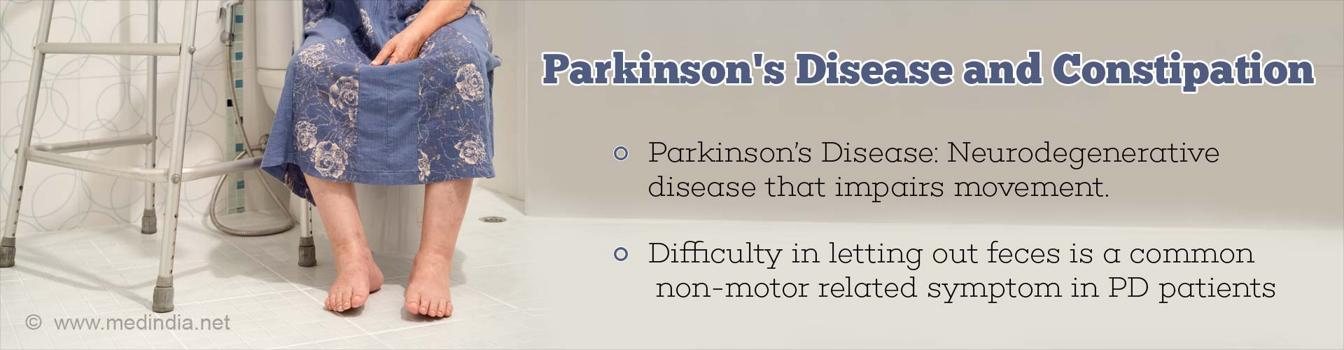 Parkinson's Disease Associated With Gastrointestinal Dysfunction