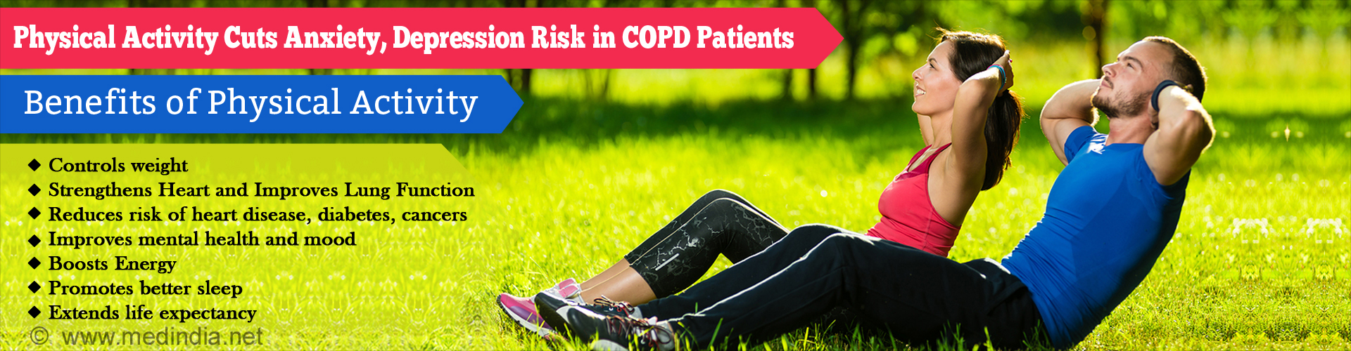 Exercise Reduces Anxiety, Depression Risk in COPD Patients