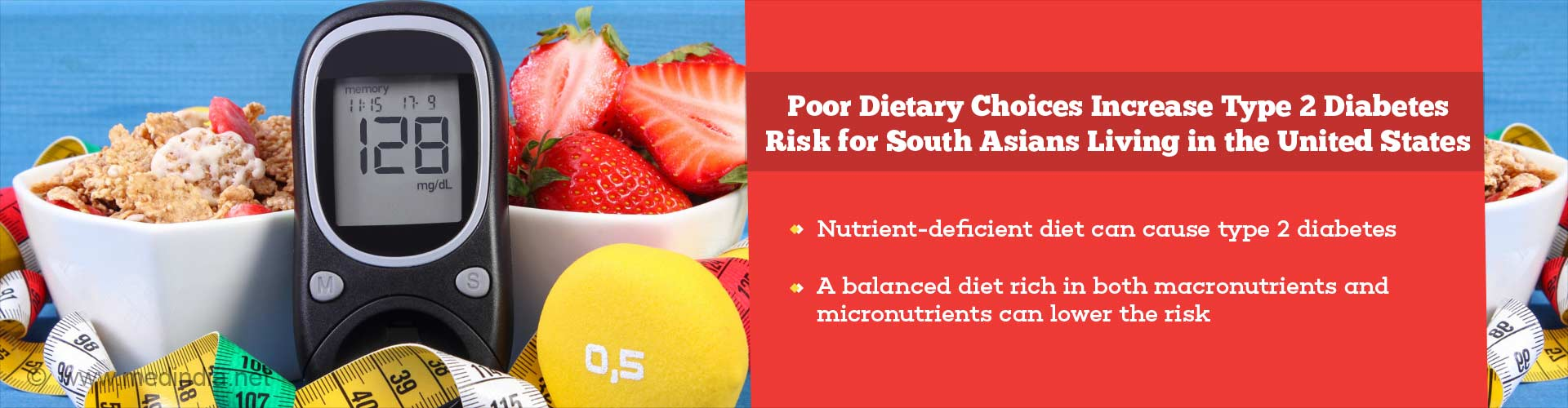 Type 2 Diabetes Linked to Nutrient-deficient Diet for South Asians in the US