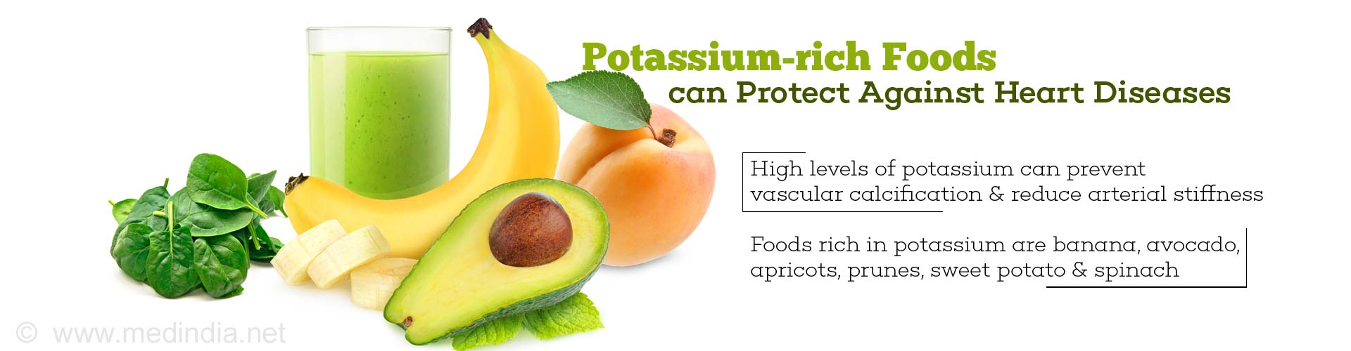 Potassium-rich Foods can Protect Against Heart Diseases