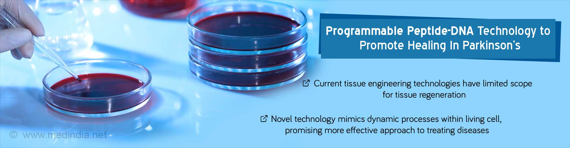 Programmable Peptide-DNA Technology to Promote Healing in Parkinson''s