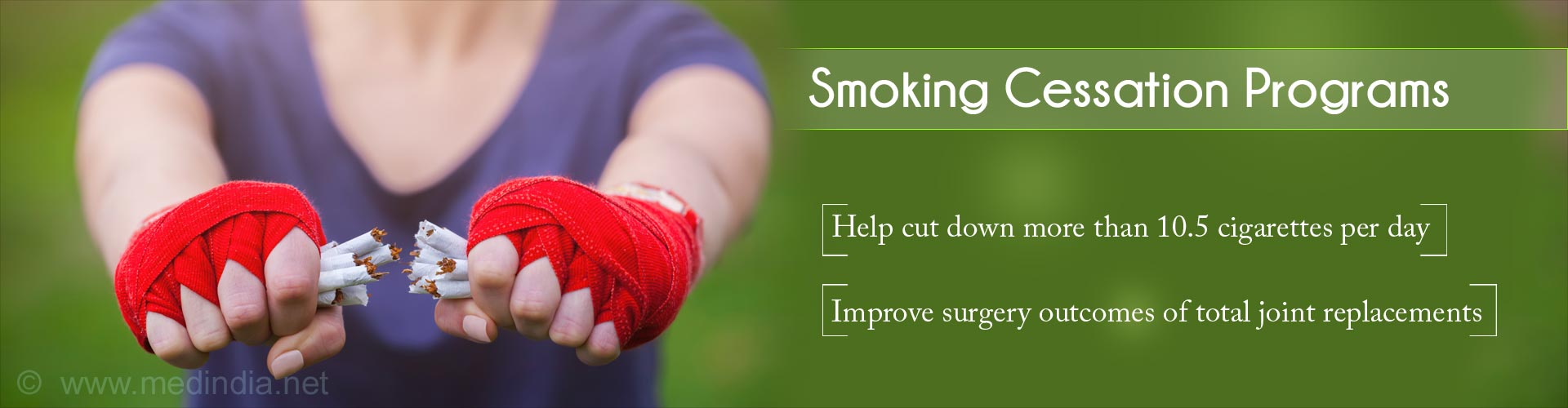 Quit Smoking Prior To Joint Replacement Surgeries