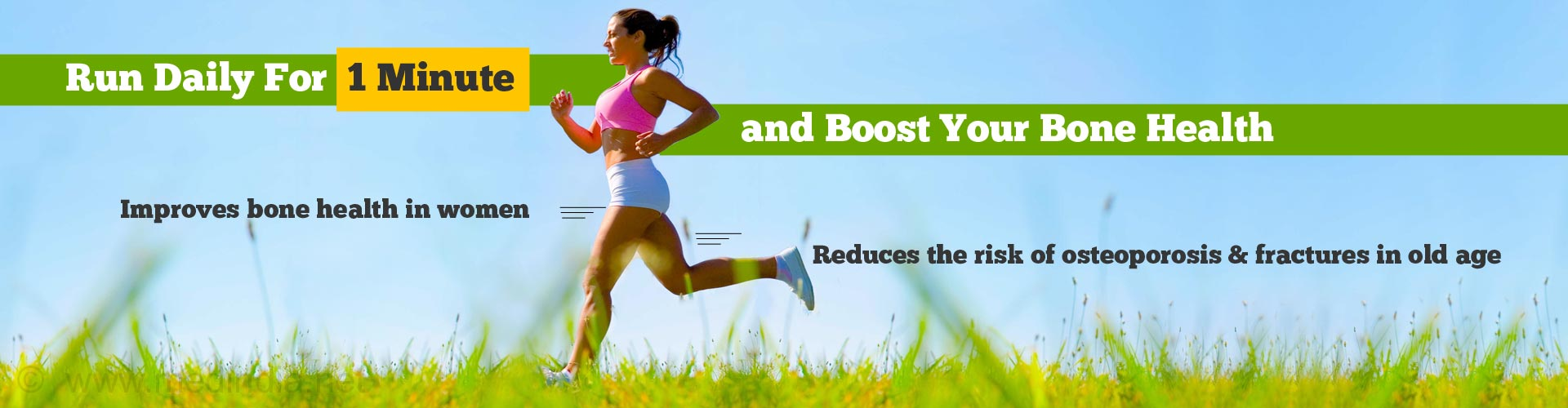 Can Running For Just One Minute Boost Bone Health