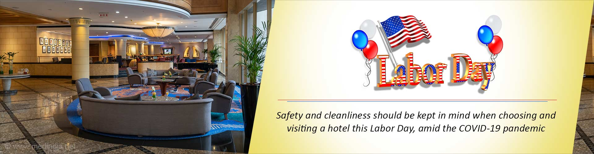 Tips for Safe Hotel Stay This Labor Day During the COVID-19 Pandemic