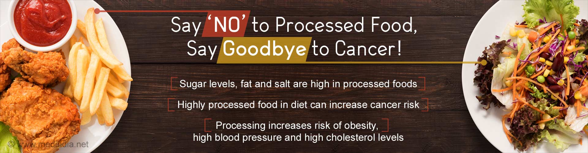 Cut Down on Processed Food To Stay Away From Cancer