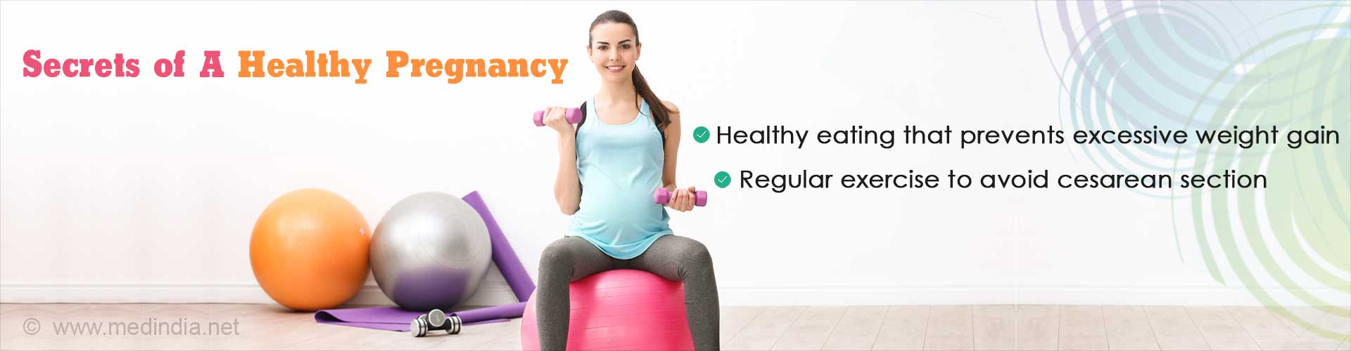 Exercise and Healthy Diet Reduces Risk of Excessive Weight Gain, Diabetes