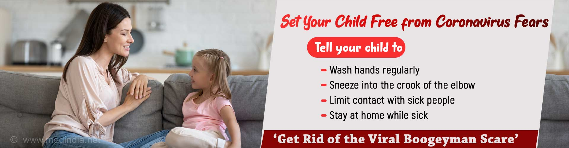 Help Your Child Blow Away the New Coronavirus Fear