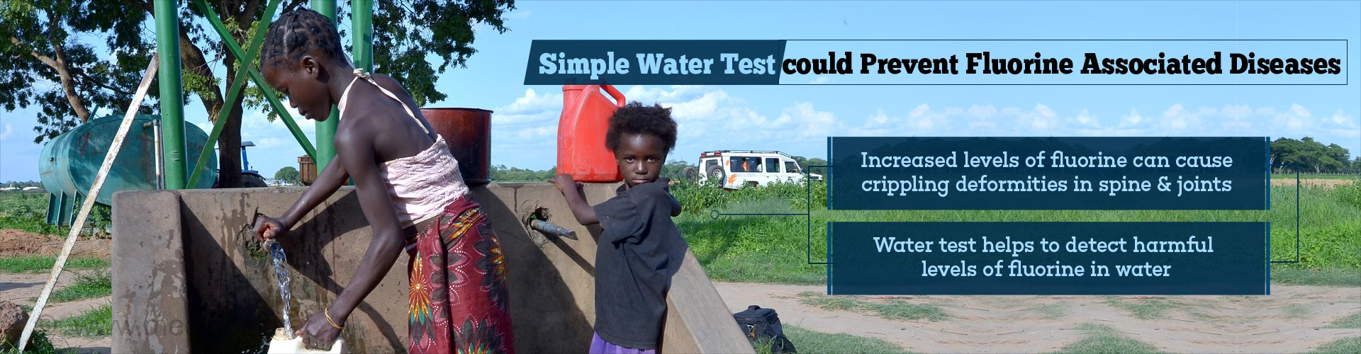 Simple Water Test can Prevent Crippling Deformities