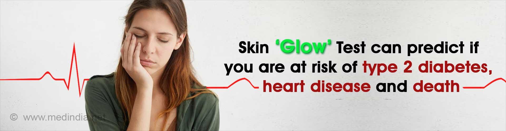 Skin Autofluorescence Predicts Future Risk of Diabetes and Heart Disease