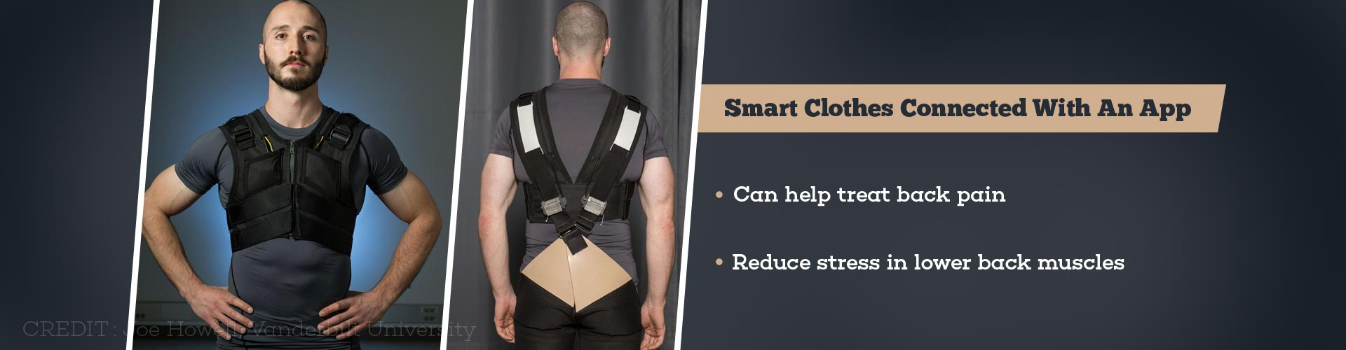 Smart Clothes Reduce Stress on Lower Back, Prevents Back Pain