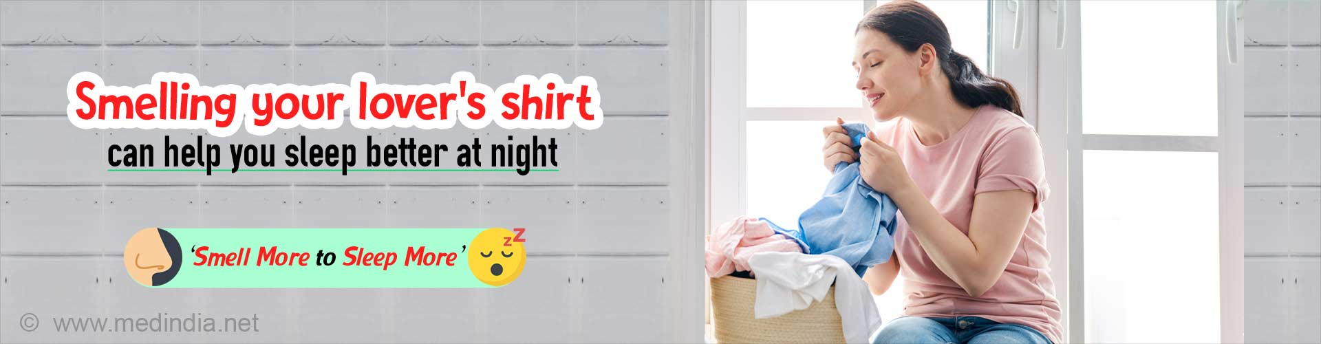 Sleep Well at Night: Smelling Your Lover's Shirt can Help You Catch Some Zzz's