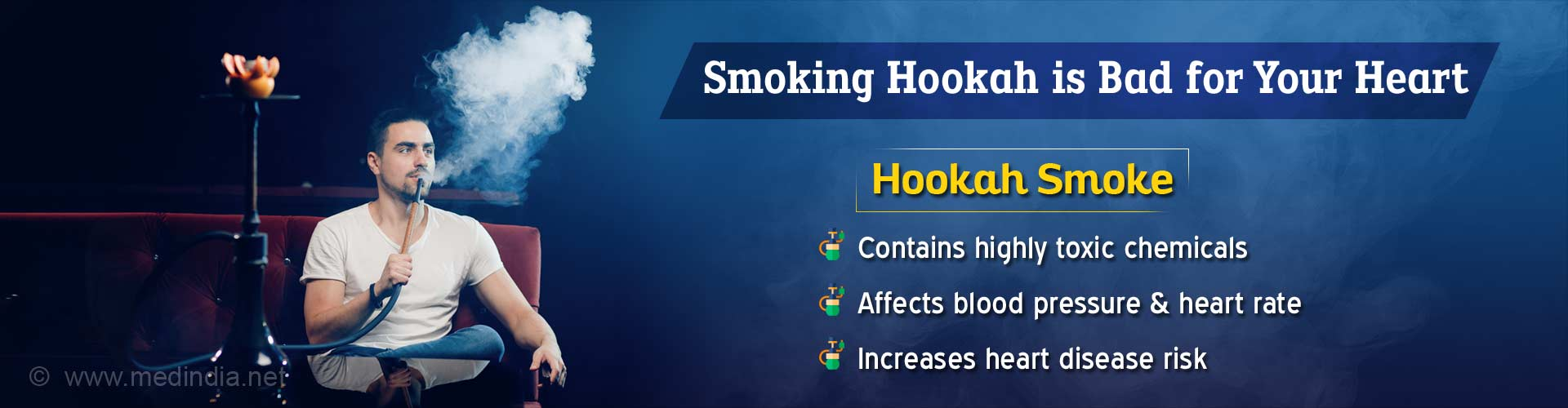 Hookah Smoke Can Affect Your Heart Health: Here's How