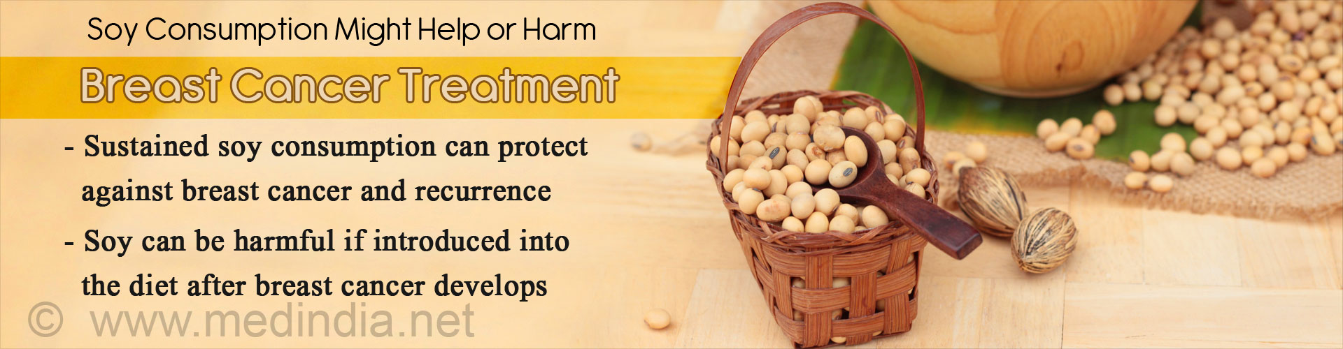 Soy Consumption Linked to Breast Cancer Treatment