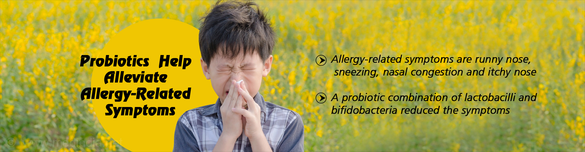 probiotics help alleviate allergy-related symptoms