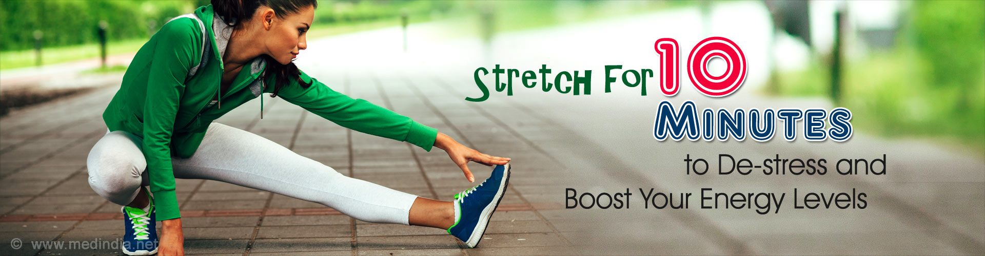 Stretch for 10 Minutes to De-stress and Boost Your Energy Levels