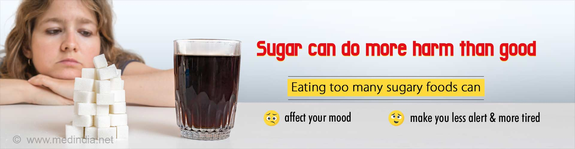 Too Much Sugar is Bad for Your Mood