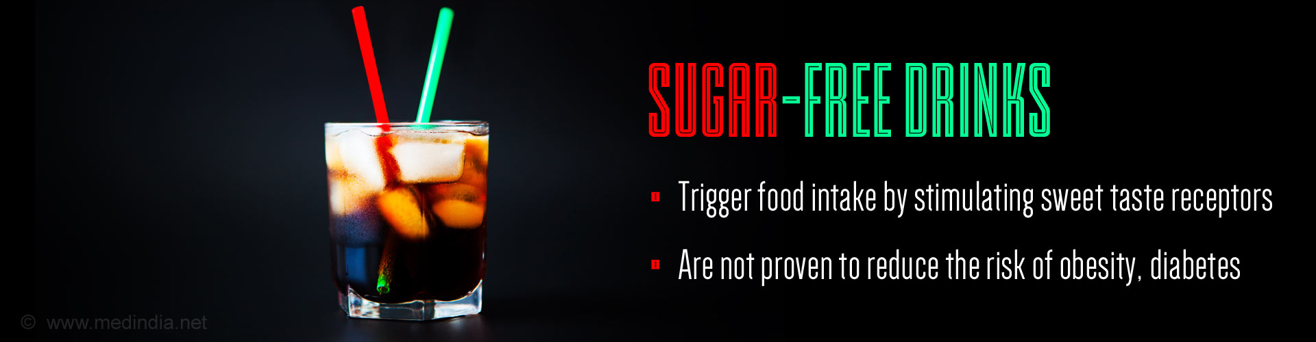 Sugar-Free Drinks Are No Better Than Full Sugar Drinks