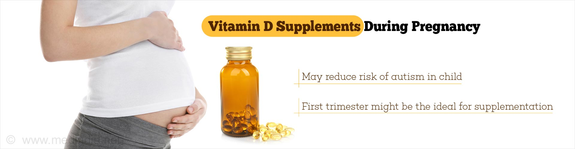 Supplementing Vitamin D During Pregnancy May Reduce Autism Risk in Fetus