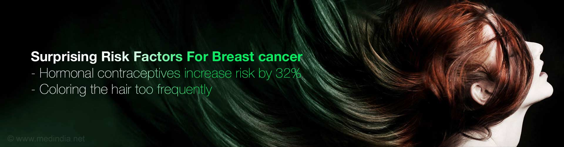 Hair Dyes, Contraceptives May Increase Breast Cancer Risk