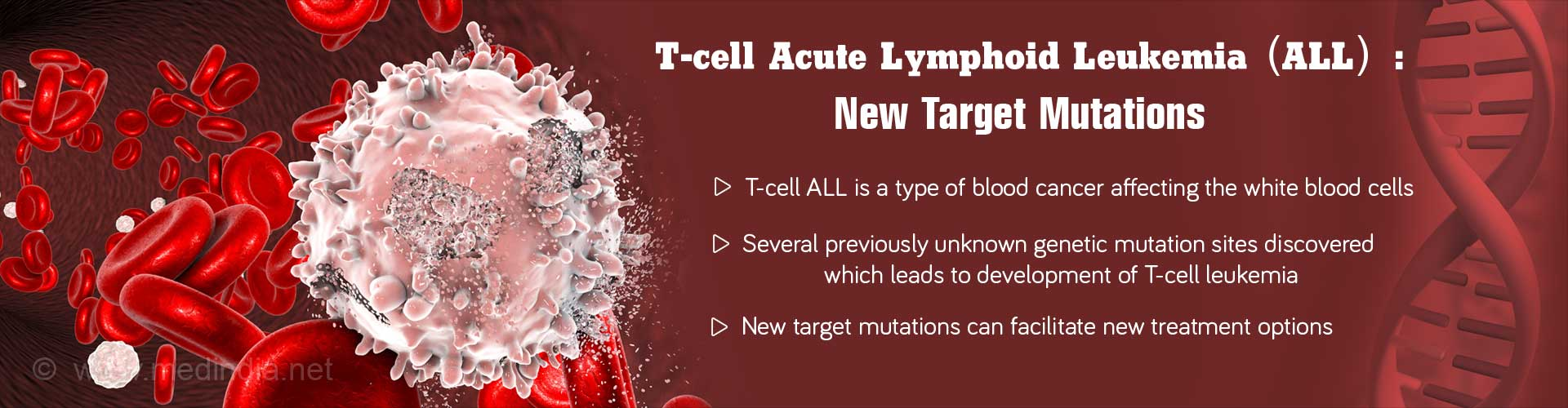 T-cell Acute Lymphoid Leukemia (ALL) New Target Mutations