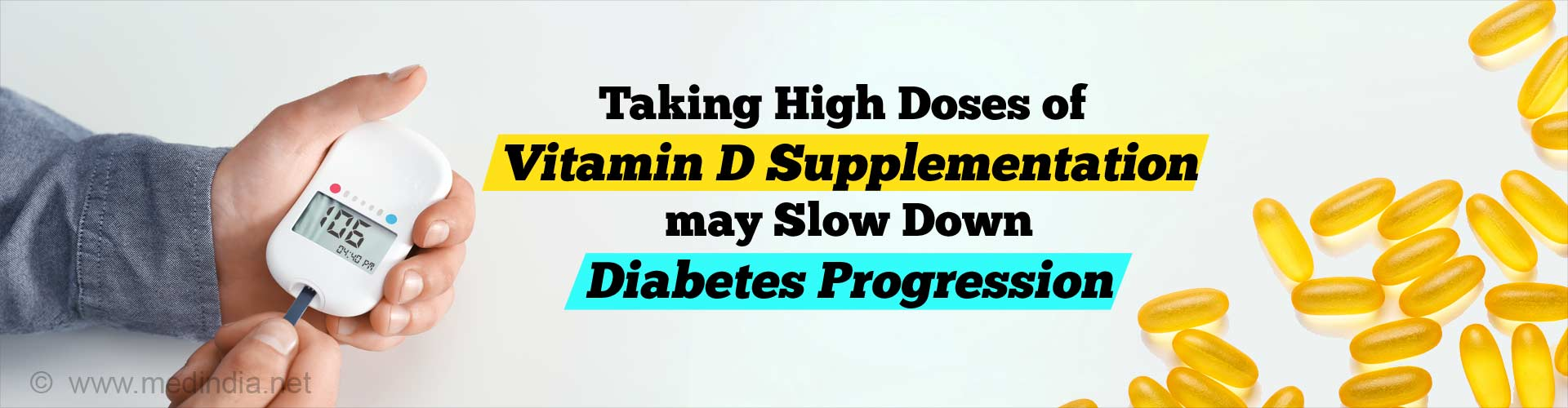 Vitamin D Supplementation can Slow Progression of Early Diabetes