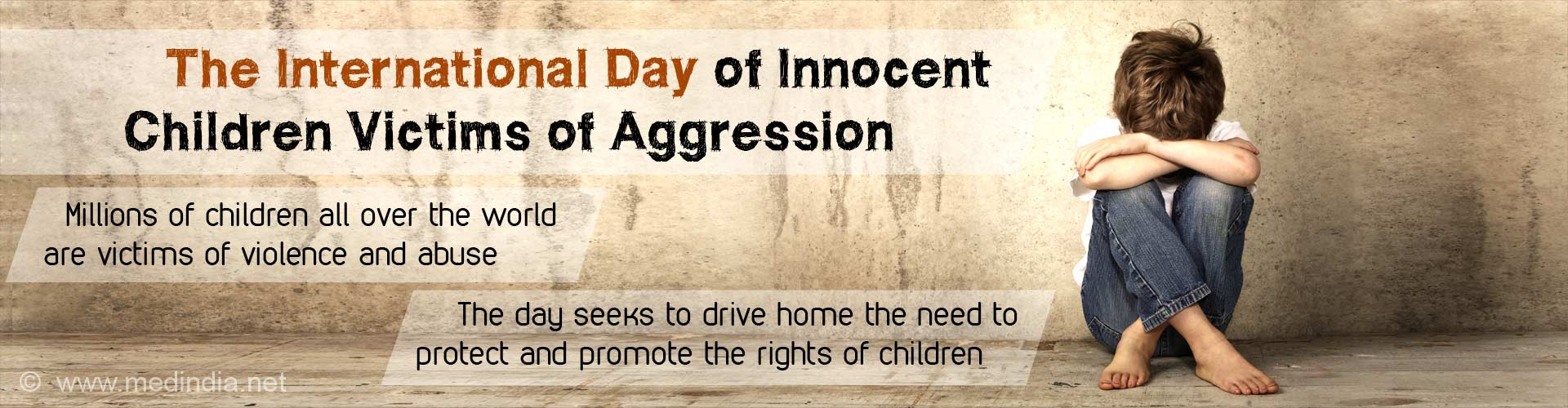 International Day of Innocent Children Victims of Aggression 2017