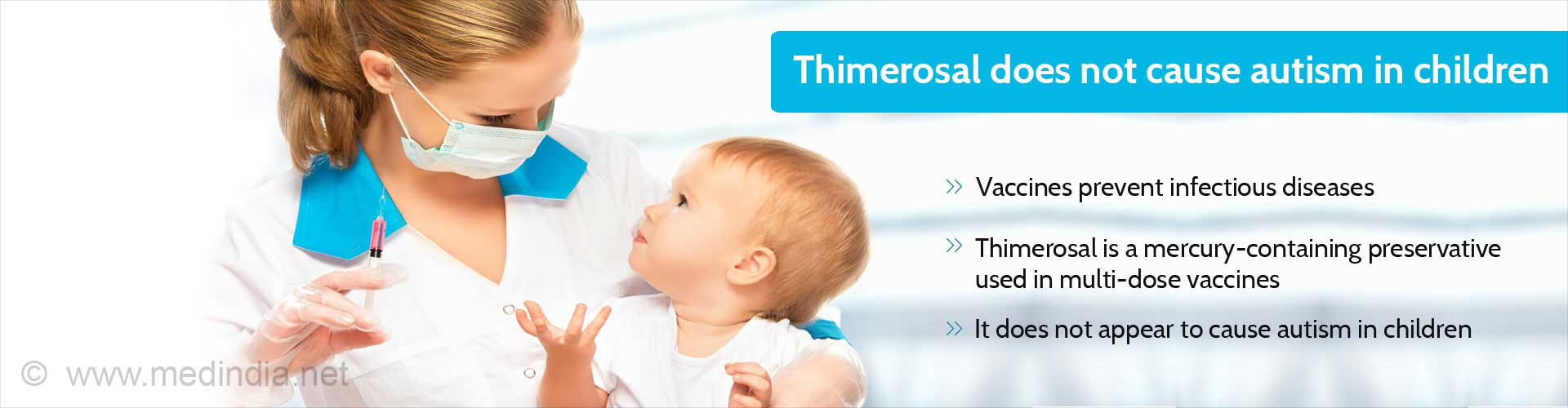 Thimerosal in Vaccines Does Not Cause Autism in Children