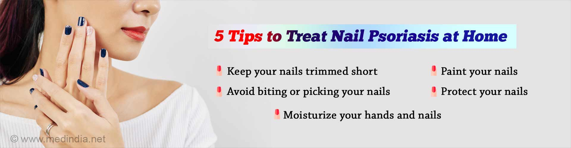 Nail Psoriasis: 5 Simple Nail-care Tips Just for You