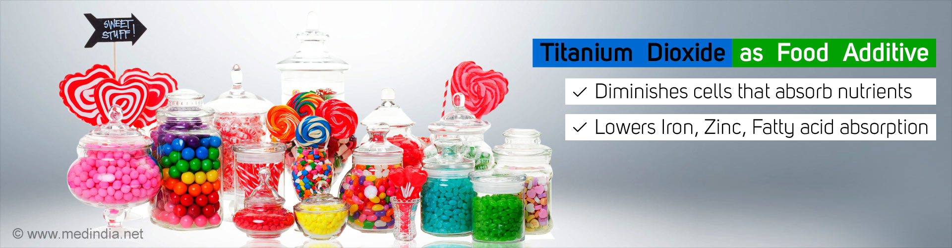 Titanium dioxide as food additive