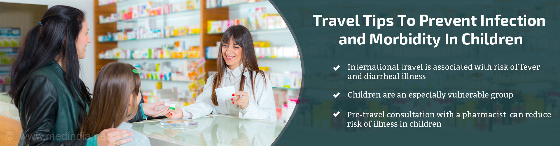 Travel Tips To Prevent Infection and Morbidity In Children
